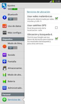Uso de la navegación GPS - Samsung Galaxy Tab 3 7.0 - Passo 18