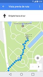 Uso de la navegación GPS - LG X Cam - Passo 19