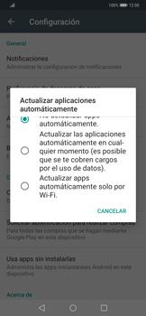 Cambiar configuración de actualizaciones de aplicaciones - Huawei Mate 20 Pro - Passo 5