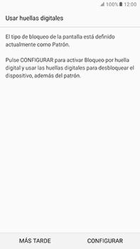 Desbloqueo del equipo por medio del patrón - Samsung Galaxy A7 2017 - A720 - Passo 12