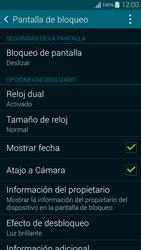 Desbloqueo del equipo por medio del patrón - Samsung Galaxy Alpha - G850 - Passo 5