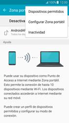 Configura el hotspot móvil - Samsung Galaxy J5 - J500F - Passo 7