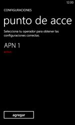 Configura el Internet - Nokia Lumia 620 - Passo 8