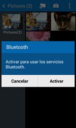 Transferir fotos vía Bluetooth - Samsung Galaxy Core 2 - G355 - Passo 10