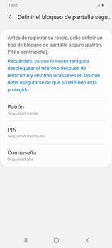 Cómo configurar el Face ID - Samsung Galaxy S20 - Passo 7
