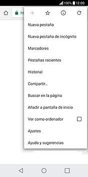 Configura el Internet - LG Q6 - Passo 22