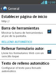 Configura el Internet - LG Optimus L3 II - Passo 22