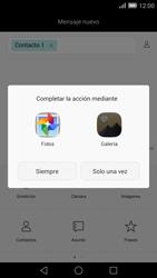 Envía fotos, videos y audio por mensaje de texto - Huawei Ascend Mate 7 - Passo 14