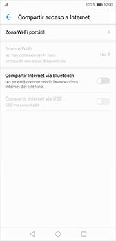 Configura el hotspot móvil - Huawei P20 - Passo 5