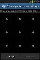 Desbloqueo del equipo por medio del patrón - Samsung Galaxy Fame GT - S6810 - Passo 10