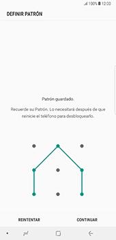 Desbloqueo del equipo por medio del patrón - Samsung Galaxy Note 8 - Passo 8