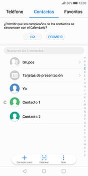 ¿Tu equipo puede copiar contactos a la SIM card? - Huawei Mate 10 Pro - Passo 3