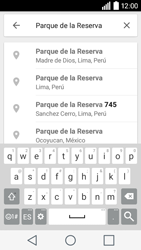 Uso de la navegación GPS - LG C50 - Passo 8