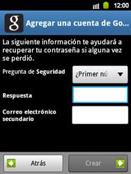 Crea una cuenta - Samsung Galaxy Y  GT - S5360 - Passo 12