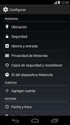 Desbloqueo del equipo por medio del patrón - Motorola Moto G - Passo 4