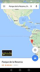 Uso de la navegación GPS - Huawei P10 - Passo 11