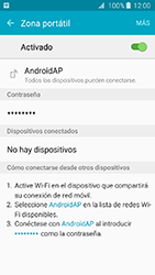 Configura el hotspot móvil - Samsung Galaxy J3 - J320 - Passo 11