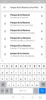 Uso de la navegación GPS - Huawei Mate 20 Pro - Passo 8