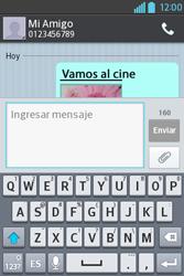 Envía fotos, videos y audio por mensaje de texto - LG L4 II - Passo 17