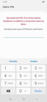 Habilitar seguridad de huella digital - Samsung Galaxy A30 - Passo 10