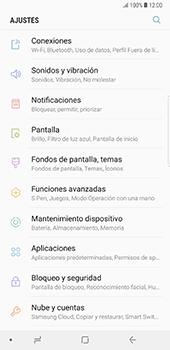 Configura el WiFi - Samsung Galaxy Note 8 - Passo 4