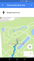 Uso de la navegación GPS - Huawei P9 Lite 2017 - Passo 19