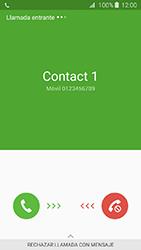 Contesta, rechaza o silencia una llamada - Samsung Galaxy J3 - J320 - Passo 3