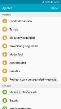 Desbloqueo del equipo por medio del patrón - Samsung Galaxy Note 5 - N920 - Passo 4