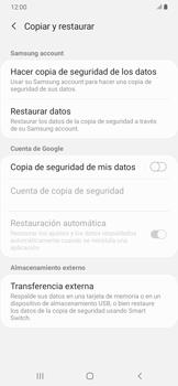 Realiza una copia de seguridad con tu cuenta - Samsung Galaxy A30 - Passo 6