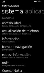 Restaura la configuración de fábrica - Nokia Lumia 530 - Passo 4