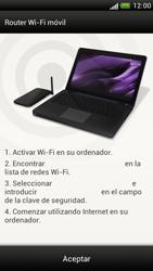 Configura el hotspot móvil - HTC One S - Passo 11