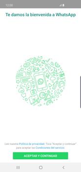 Configuración de Whatsapp - Samsung S10+ - Passo 4