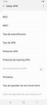 Configura el Internet - Samsung Galaxy A80 - Passo 15