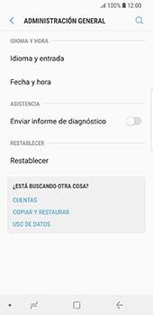 Restaura la configuración de fábrica - Samsung Galaxy S9 - Passo 5