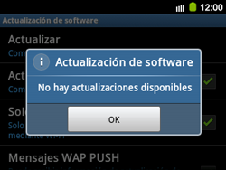 Actualiza el software del equipo - Samsung Galaxy Y Pro GT - B5510 - Passo 9