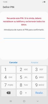 Habilitar seguridad de huella digital - Samsung Galaxy A30 - Passo 9