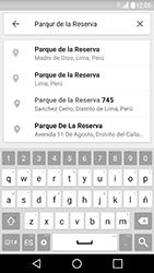 Uso de la navegación GPS - LG X Cam - Passo 10