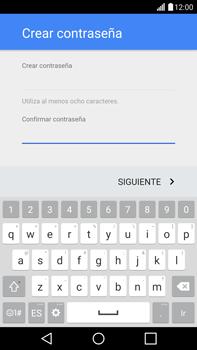 Crea una cuenta - LG G4 - Passo 9