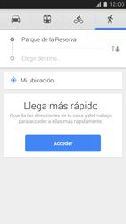 Uso de la navegación GPS - Samsung Galaxy S5 - G900F - Passo 9