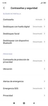 Desbloqueo del equipo por medio del patrón - Xiaomi Redmi Note 9 Pro - Passo 12