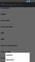 Configura el Internet - LG Optimus G Pro Lite - Passo 16