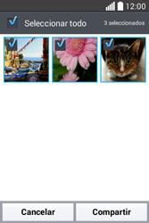 Transferir fotos vía Bluetooth - LG L40 - Passo 6