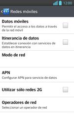 Configura el Internet - LG Optimus L 7 II - Passo 6