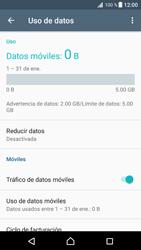 Desactivación límite de datos móviles - Sony Xperia XZ Premium - Passo 5
