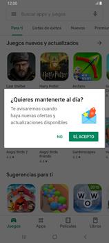 Instala las aplicaciones - Samsung Galaxy A80 - Passo 4
