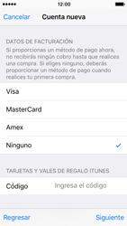 Crea una cuenta - Apple iPhone SE - Passo 17