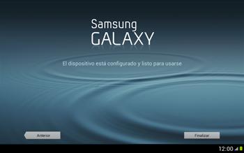 Activa el equipo - Samsung Galaxy Note 10-1 - N8000 - Passo 13