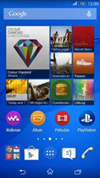 Configura el hotspot móvil - Sony Xperia E 4G - Passo 1