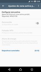 Configura el hotspot móvil - Sony Xperia XZ Premium - Passo 10