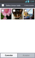Envía fotos, videos y audio por mensaje de texto - LG Optimus L 7 II - Passo 14